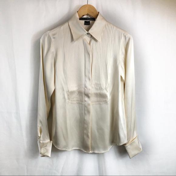 c0bf67c72d55c5 Ellen Tracy Tops - Linda Allard Ellen Tracy silk button down blouse